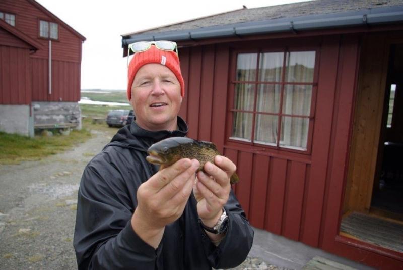 Vi drar til Hardangervidda på ørretfiske 2.-5. august.